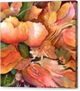 Fruit And Flowers Canvas Print