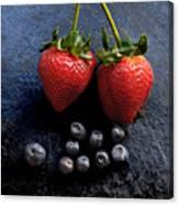 Fruit And Slate Canvas Print