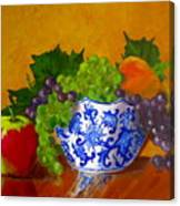 Fruit Bowl II Canvas Print