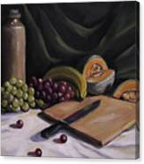 Fruit By The Light Canvas Print