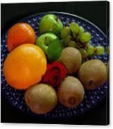 Fruit Dish Canvas Print