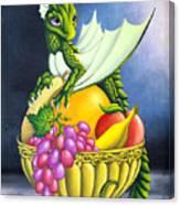 Fruit Dragon Canvas Print
