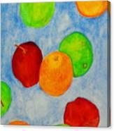 Fruit Drops Canvas Print