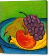 Fruit In Bowl Canvas Print