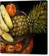 Fruit In The Round Canvas Print