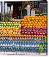 Fruit Just Stand Canvas Print