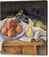 Fruit On A Table Canvas Print