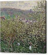 Fruit Pickers Canvas Print