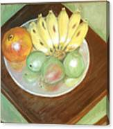 Fruit Plate Canvas Print
