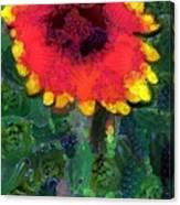 Fruit Salad Flower Canvas Print