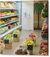 Fruit Shop Canvas Print