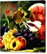Fruit Still-life Catus 1 No. 1 H A Canvas Print