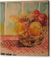 Fruitbasket Canvas Print