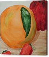 Fruits Of All Seasons Canvas Print