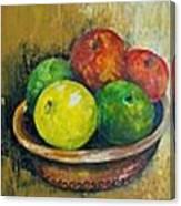 Frutas Canvas Print