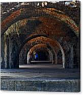 Ft. Pickens Arches Canvas Print