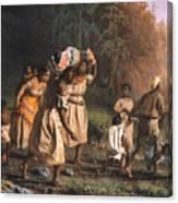 Fugitive Slaves, 1867 Canvas Print