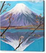 Fuji San Canvas Print