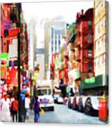 Fujianese Neighborhood Canvas Print