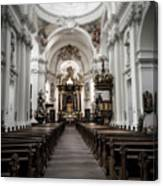 Fulda Cathedral Inside Canvas Print