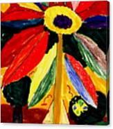 Full Bloom - My Home 2 Canvas Print