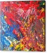 Full Color Particles Canvas Print