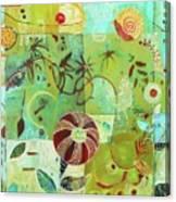 Full Crazy Quilt Canvas Print
