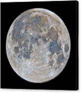 Full Moon / Day 15 Canvas Print