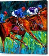Full Speed Canvas Print