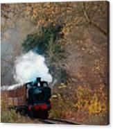 Full Steam  Canvas Print