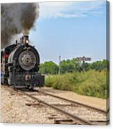 Full Steam To Nowhere Canvas Print
