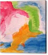 Fun Abstract Canvas Print