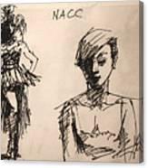 Fun At Art Of Fashion At Nacc 1 Canvas Print