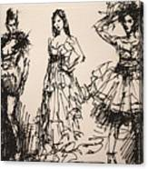 Fun At Art Of Fashion At Nacc 3 Canvas Print