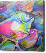 Fun Fish Canvas Print