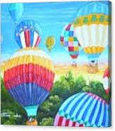Fun With Balloons Canvas Print