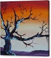 Fungus Tree Canvas Print