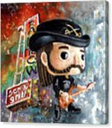 Funko Lemmy Kilminster Out To Lunch Canvas Print
