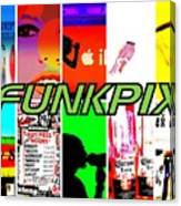 Funkpix Logo Canvas Print