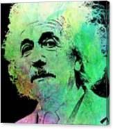 Funky Einstein  Canvas Print