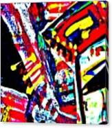 Funky Pop-10 Canvas Print