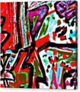 Funky Pop-11 Canvas Print