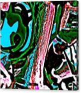 Funky Pop-12 Canvas Print