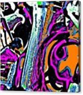 Funky Pop-14 Canvas Print