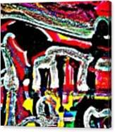 Funky Pop-16 Canvas Print
