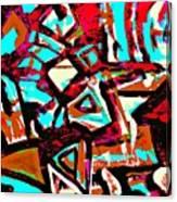 Funky Pop-6 Canvas Print