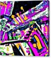 Funky Pop-7 Canvas Print