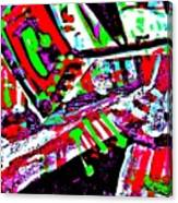 Funky Pop-9 Canvas Print