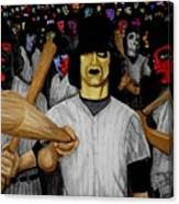 Furies Up To Bat Canvas Print