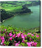 Furnas Lake Azores Canvas Print